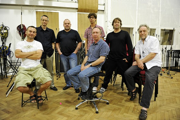 Les techniciens Abbey Road du projet