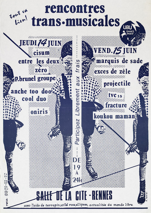 Affiche Trans Musicales 1979