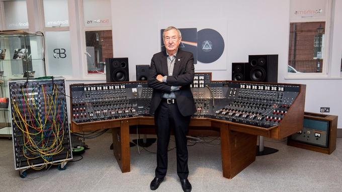 Nick Mason et la console EMI